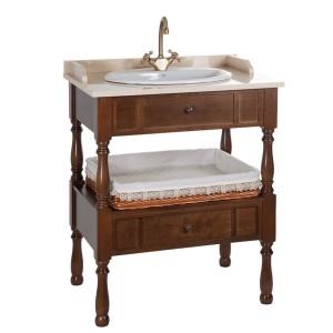 Mueble de baño antiguo 75 cm
