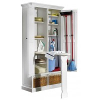 Mueble plancha guarda útiles limpieza 90 cm.