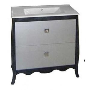 Mueble baño moderno forma 81 cm