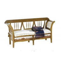 Sofá antiguo con cojín 168 cm.