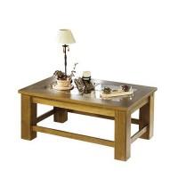 Mesa de centro pata gruesa 110 cm.