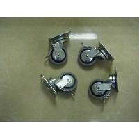 Conjunto ruedas mesa plancha